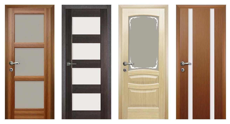 Ламинированные двери и правила выбора