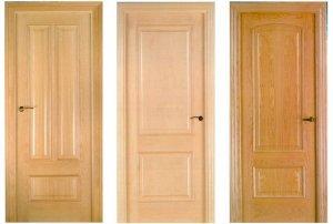 дизайн входной двери из массива